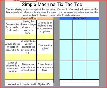 Interactive Game Simple Machines Simple Machines Interactive Game Simple Machines Unit