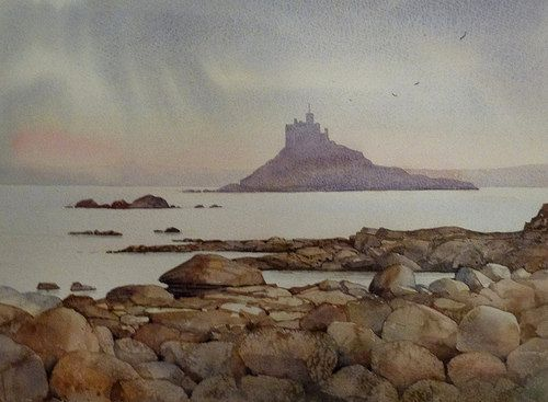 892_St Michaels from Trenow Cove | by Malcolm Coils.