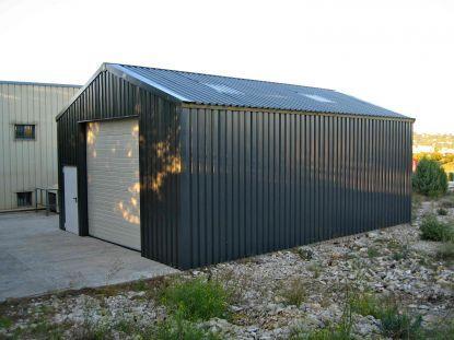 Détails Des Hangars En Simple Bardage | Garage | Pinterest | Bardage