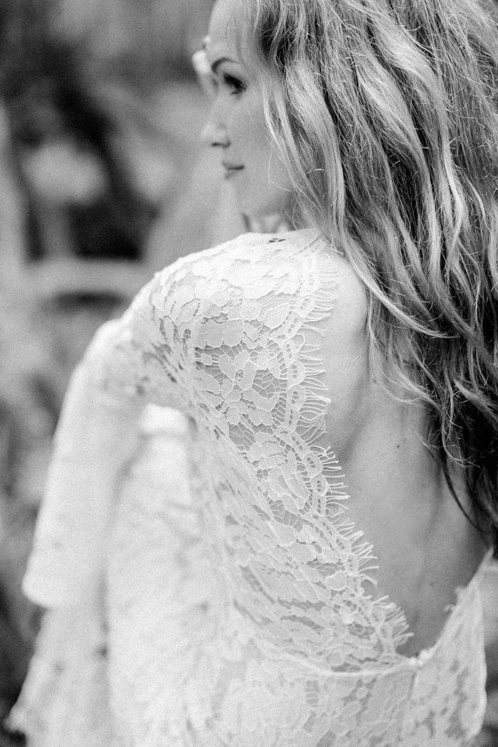 Brautkleid mit Trompetenärmeln | Friedatheres.com wedding dress with ...