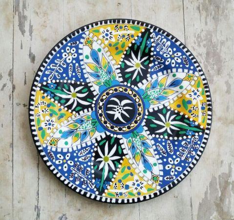 Buy Decorative Masks Online India Buy 037Turkish Online Shopping India  Blue Pottery & Ceramic