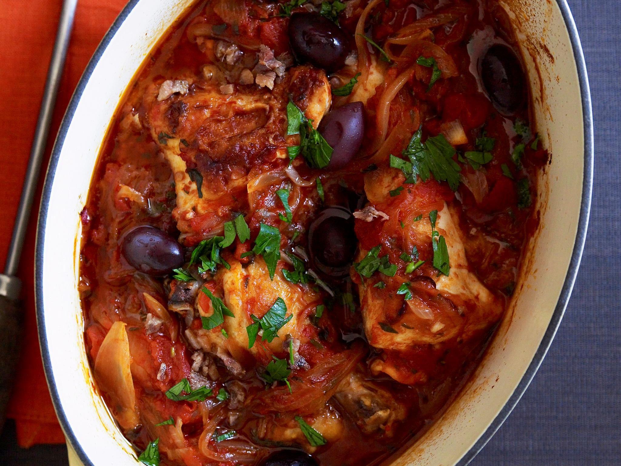 Hearty Italian Chicken Cacciatore Recipe Recipe Cacciatore Recipes Chicken Cacciatore Chicken Cacciatore Recipe