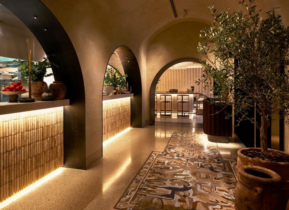 Hospitality Restaurant Designs Avli By Tashas Dubai Love That Design Coffee Shop Interior Design Luxury Restaurant Restaurant Design