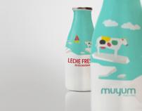 MUYUM healthy food for kids packaging & illustrations by TATABI Studio, via Behance