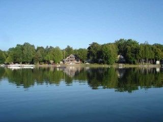 $675,900 Cameron Lake, Ceder Grove Cottages  WATERFRONT- VERY DESIRABLE CAMERON LAKE!! 8 rental cottages, and office, This would be a great family compound, or continued use as business. Beautiful Water front of 240 feet on Cameron Lake,