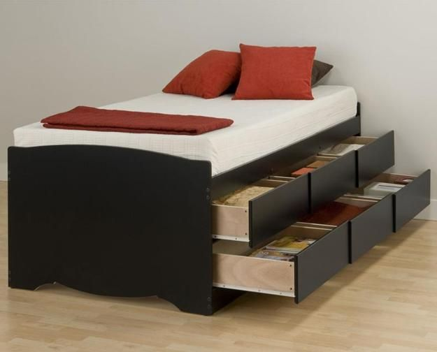30 Space Saving Beds With Storage Improving Small Bedroom Designs ...