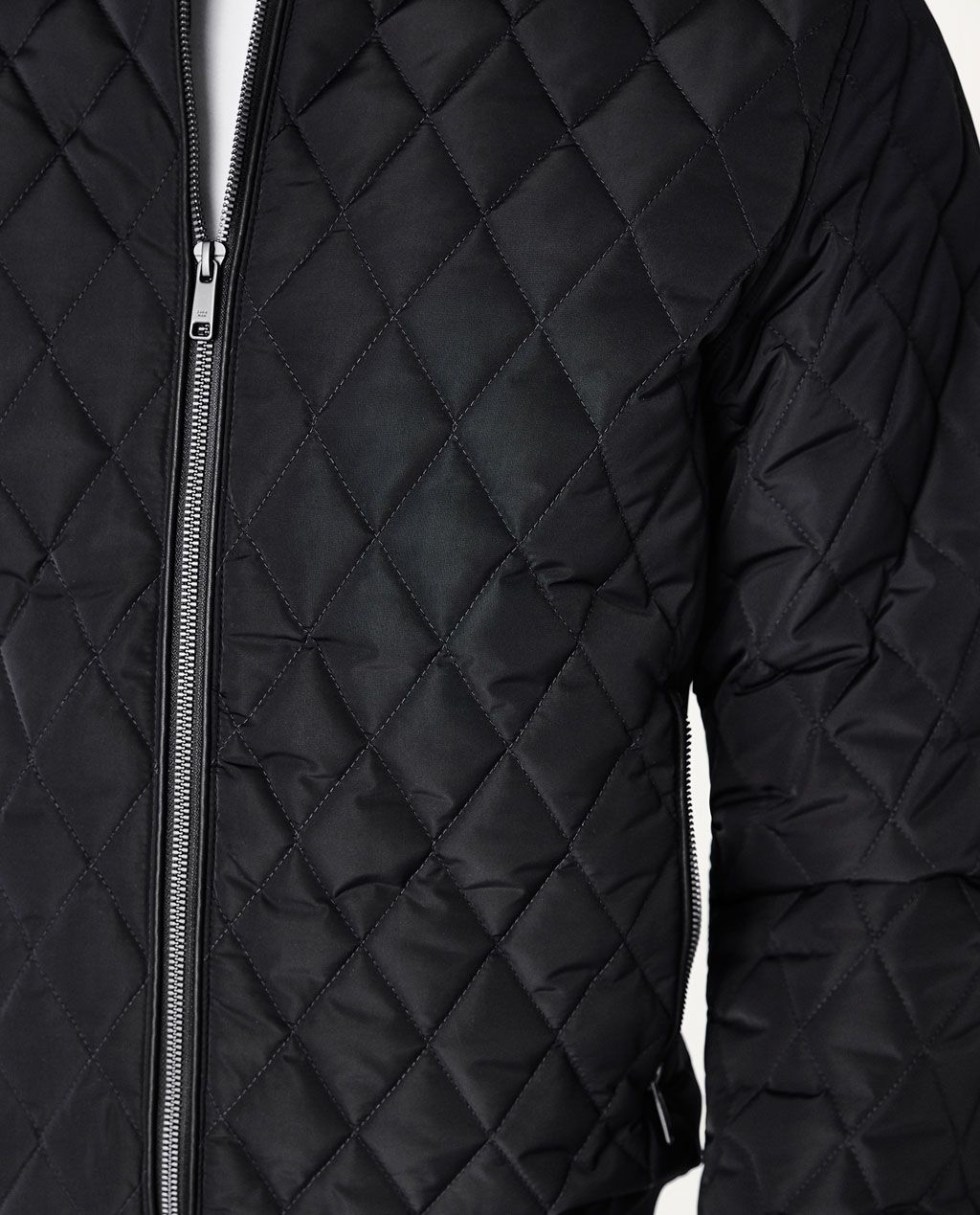 Quilted Bomber Jacket Bombers Man Zara Indonesia Quilted Bomber Jacket Jackets Bomber Jacket [ 1269 x 1024 Pixel ]
