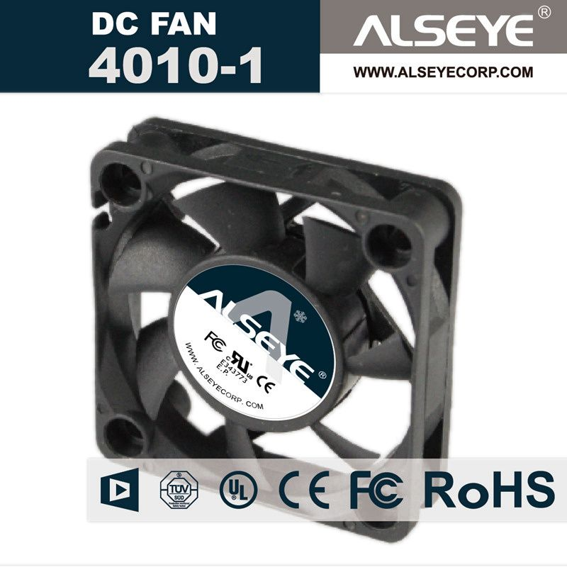 Alseye 4010 Dc Cooling Fan 12v 0 55a 7000rpm 40mm Fan Radiator
