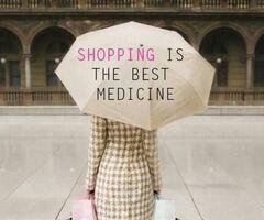 Are you sad? Go shopping!!