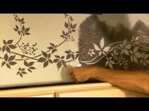 Good Stencils: How To Stencil A Kitchen Border. Wall Stencils By Cutting Edge  Stencils.
