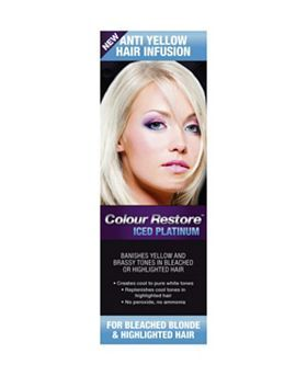 Colour Restore Iced Platinum Hair Toner 100ml Boots With Images