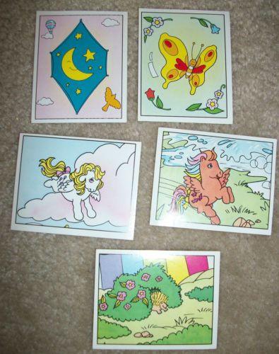Figurine Panini Vintage 1986 My Little Pony Stickers x 71 | eBay
