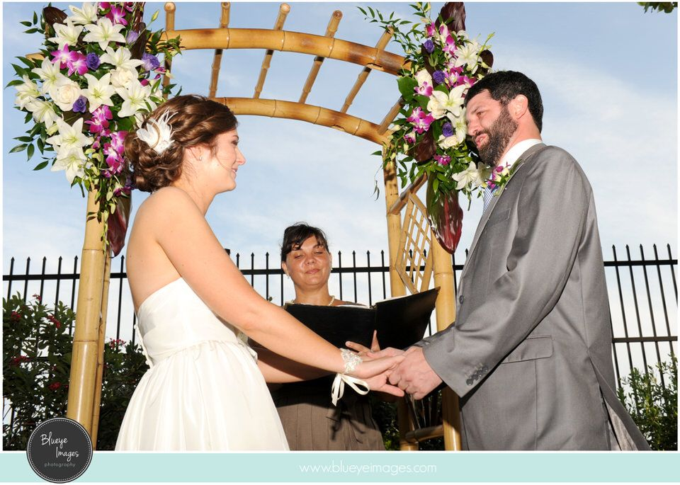 A Garden Wedding At The Key West Garden ClubWest Martello Tower