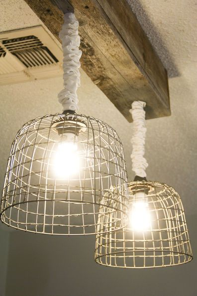 Make Your Own Light Fixtures Basket Lighting Light Fixtures Rustic Pendant Lighting