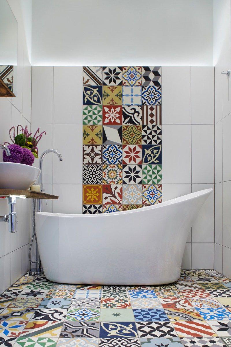 Fliesenaufkleber Fur Bad 21 Kreative Ideen Zur Erfrischung Badezimmer Deko Feiern Zenideen Badezimmergestaltung Badezimmer Fliesen Badezimmer Trends