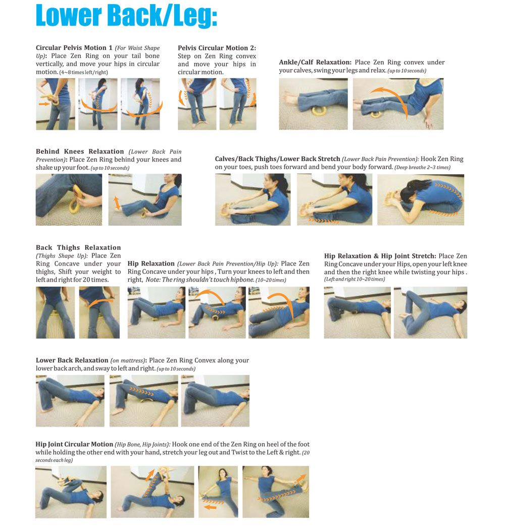 Wave Stretch Exercise - Lower Back/Leg http://whymattress.com/ · Lower Back  Pain ...