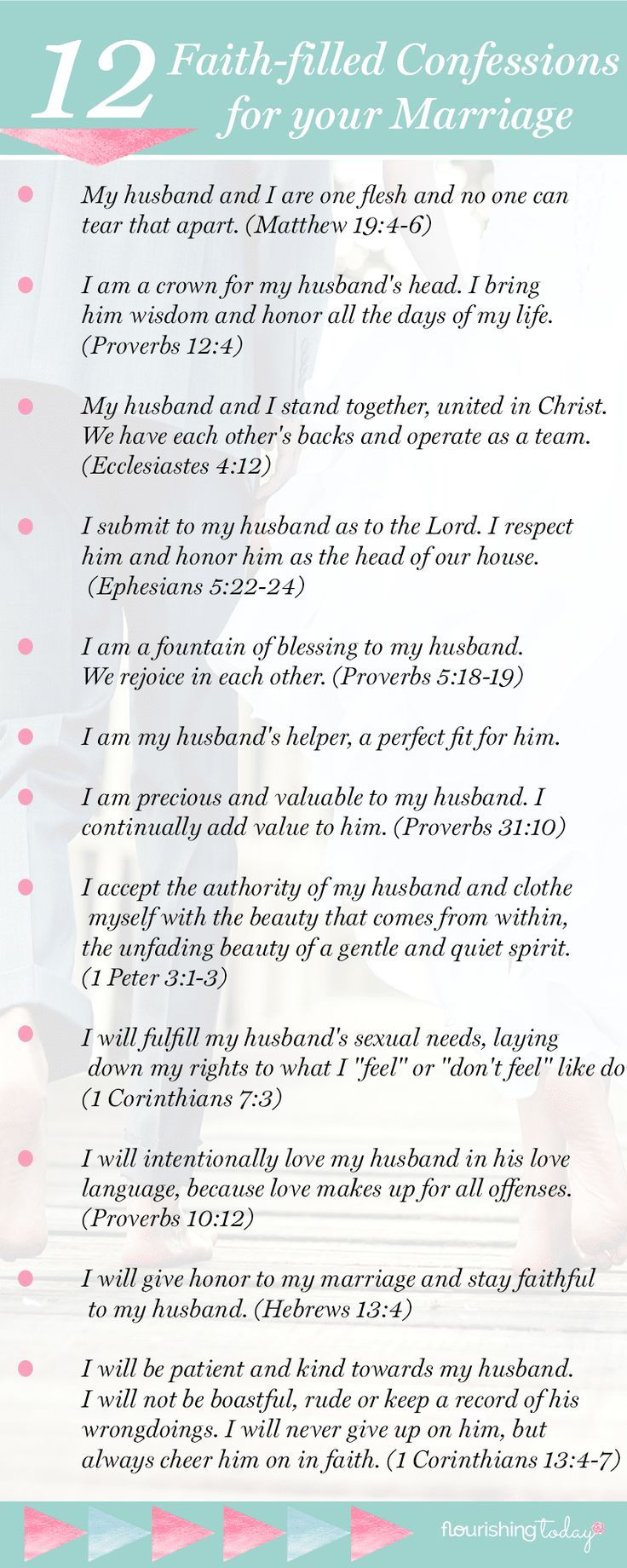 12 faith filled confessions that will make your marriage soar your words have power to build up here are 12 faith filled marriage confessions to make your marriage soar free printable malvernweather Image collections