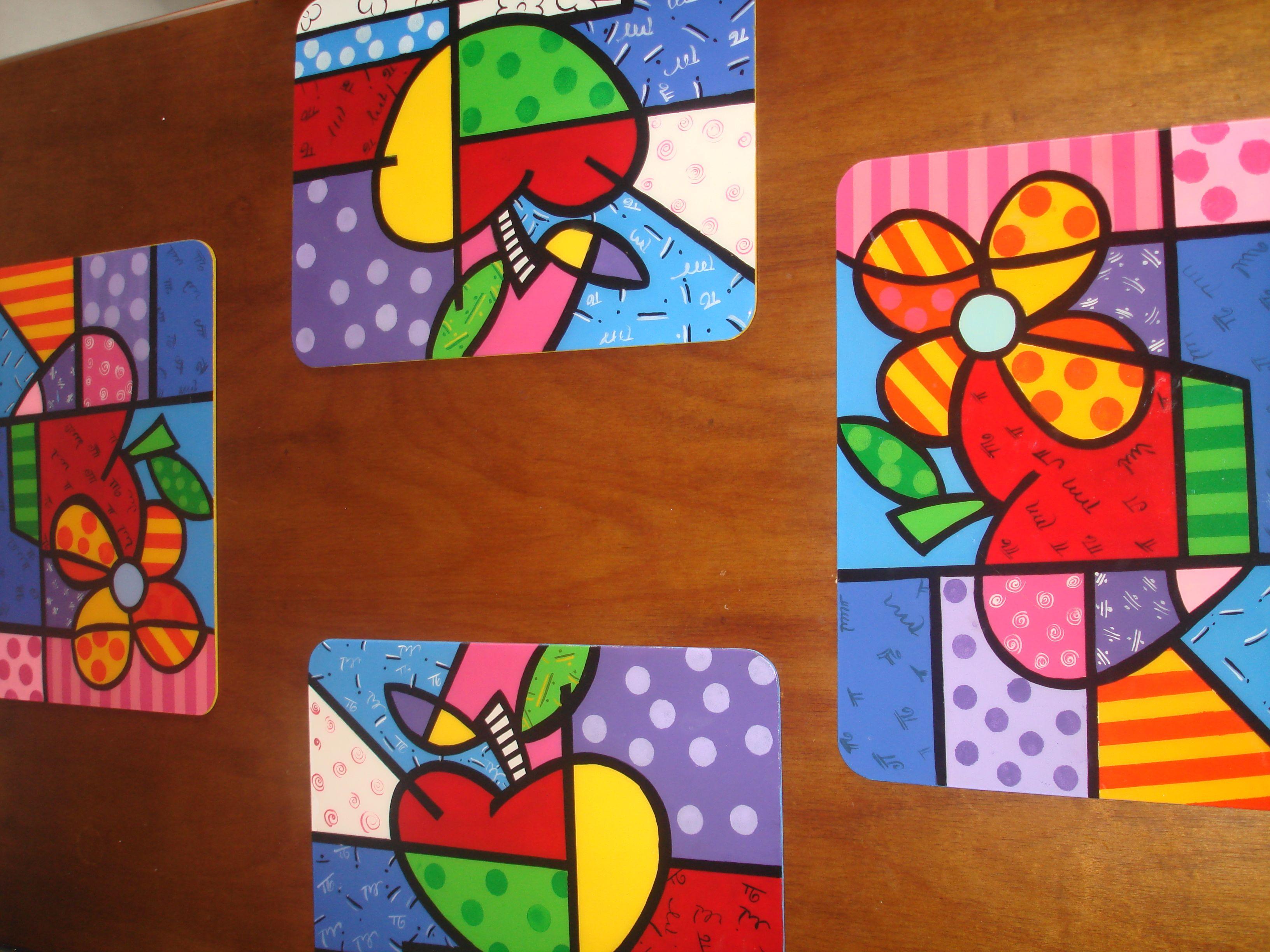Individuales de mesa ideas pintura decorativa pintura - Individuales para mesa ...