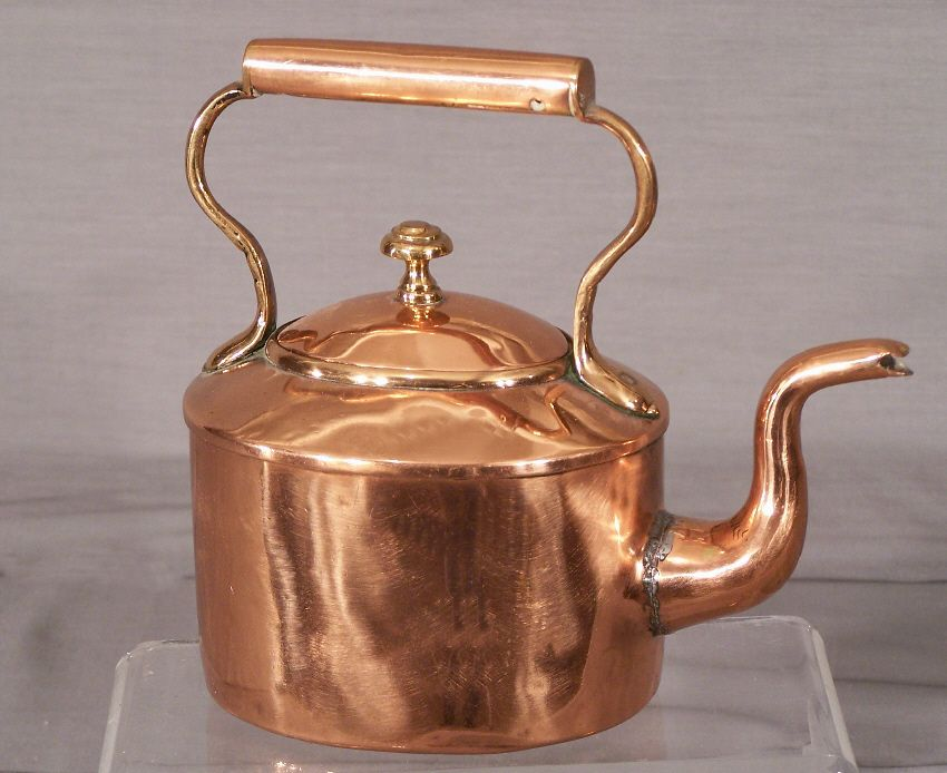 Early 19th Century English Copper Teapot