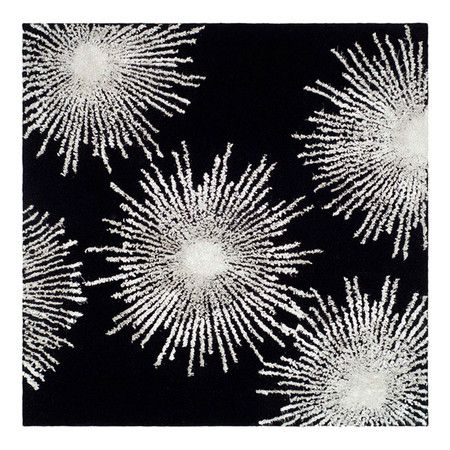 fireworks rug love this pattern....must print curtains like this!