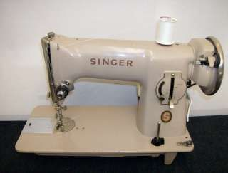 An example of the Singer 191 sewing machine I bought second hand in Paris in 1985 for 750 francs, which was worth $ 75 at the time. I was lucky it turned out to be a FAST, industrial-strength machine. I have sewn hundreds of garments on it, replaced the back-mounted motor once, and I still love this machine. The straight stitch is impeccable -- and if a machine can't do an impeccable straight stitch, why bother? I use haute couture techniques for finishing fine garments.