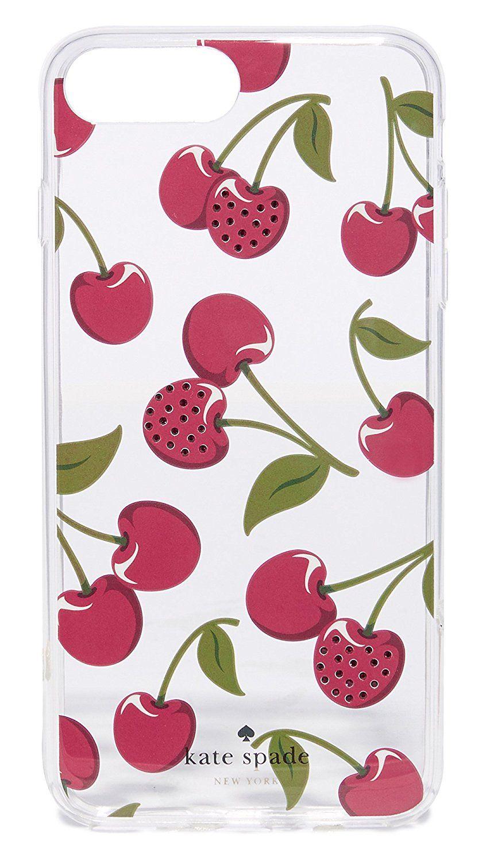 Kate spade new york jeweled cherries iphone 7 plus 8