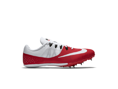 many fashionable excellent quality new arrivals Nike Zoom Rival S 8 Men's Track Spike, University Red/White/Black ...