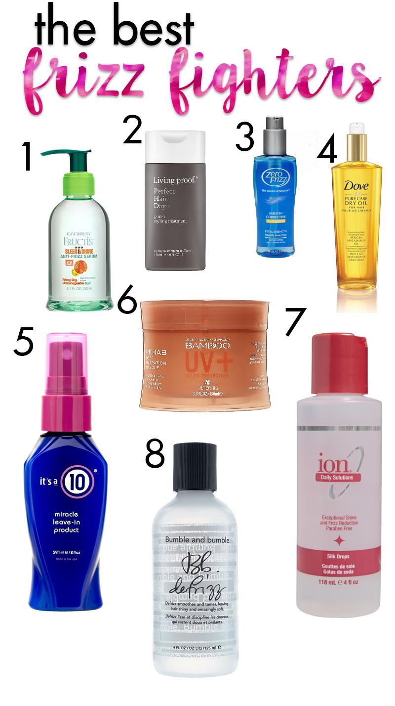 Best Frizz Fighters Hair frizz, Frizzy hair remedies