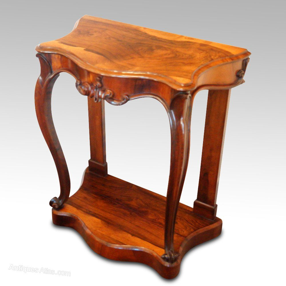 Victorian Rosewood Console Table Antiques Atlas Console Table