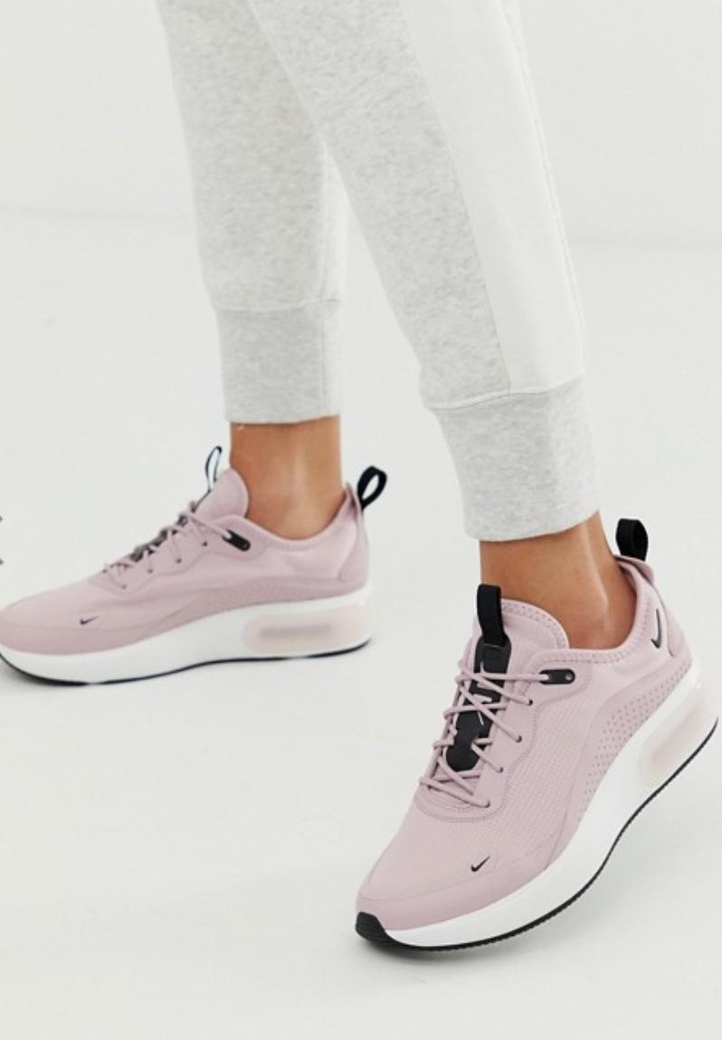 Nike Wmns Air Max DIA Plum Chalk Black White Women Running Shoes AQ4312-500