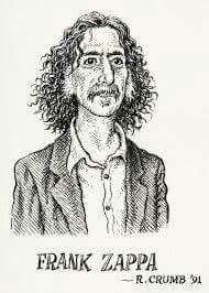 Zappa by R.Crumb
