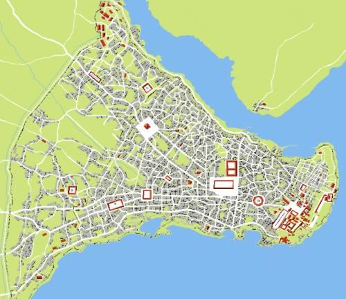 Byzantine Maps Symbols Byzantine Empire Byzantine - Ancient rome map byzantium