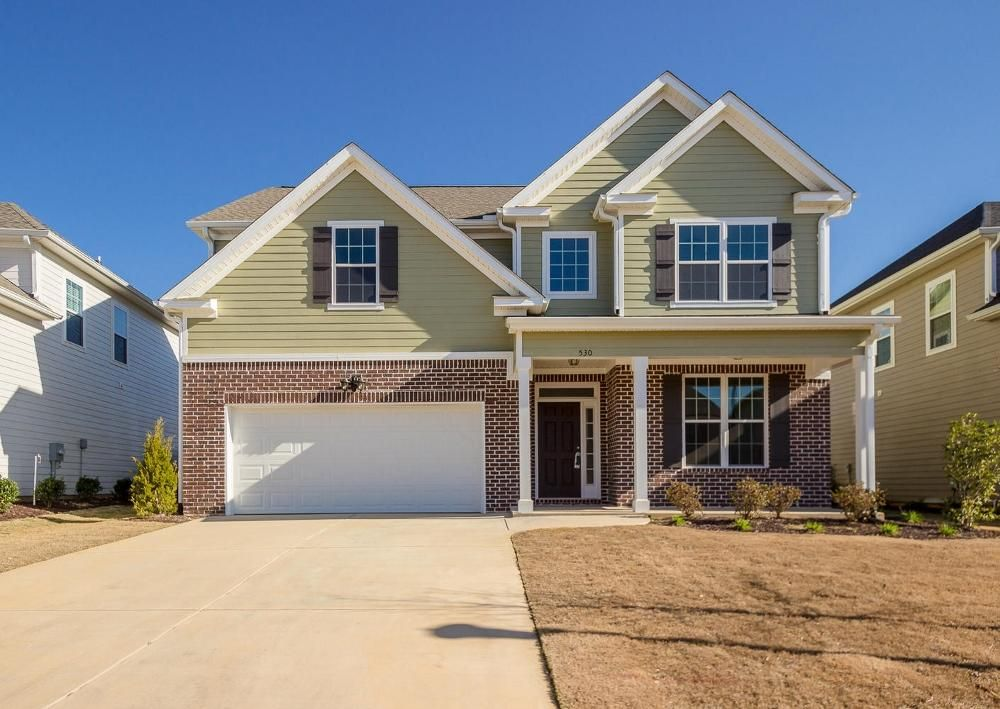 530 Bunchgrass Street New Homes In Evans Ga Home Builders New Homes Building A House