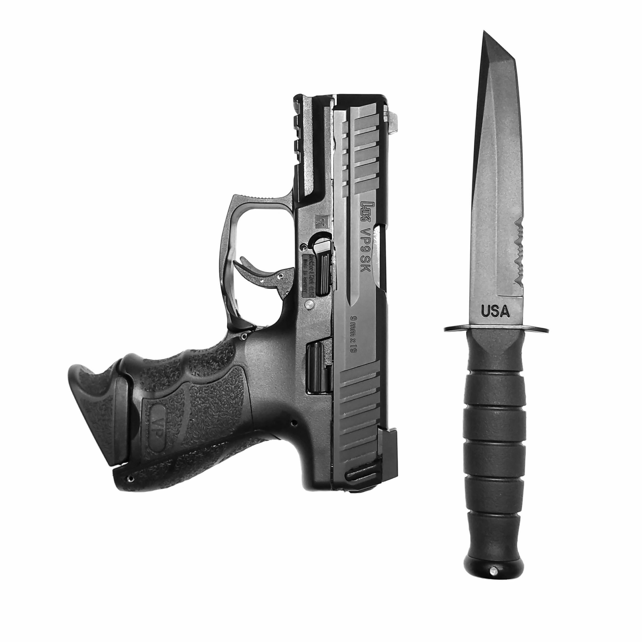 Midnight Bronze HK VP9SK Vp9sk 9mm Guns Firearms Hand Guns