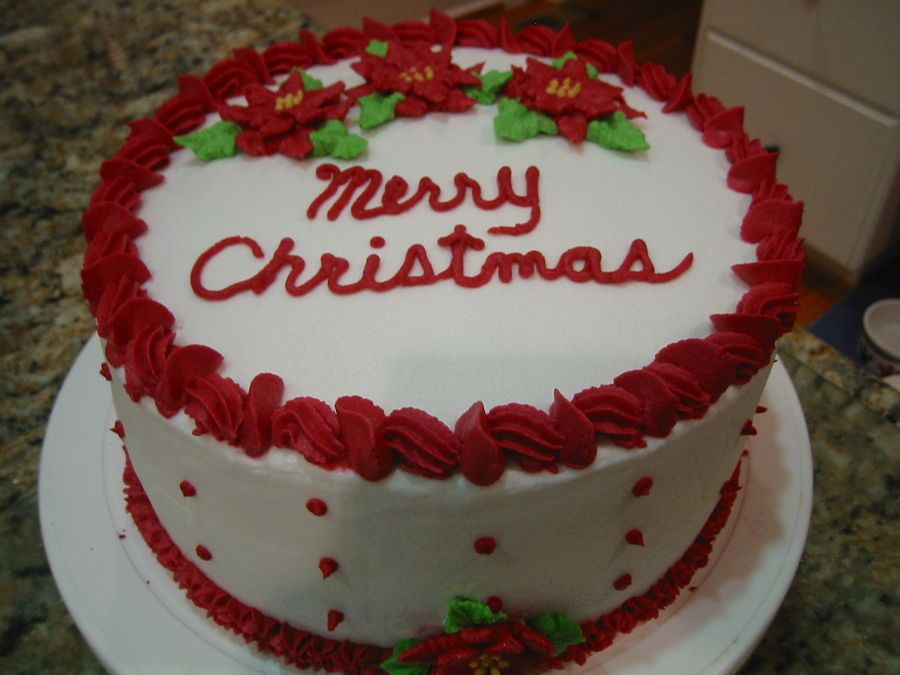 8 red velvet cake with buttercream icing buttercream for Iced christmas cakes