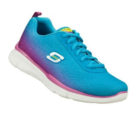 Bright and fun running shoes
