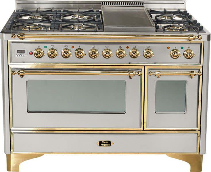 Ilve Majestic Collection Um120sdmp Dual Oven Dual Fuel Ranges Kitchen Decor