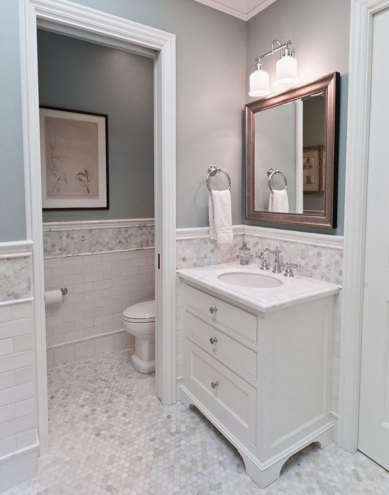 Portfolio of Work traditional bathroom san francisco