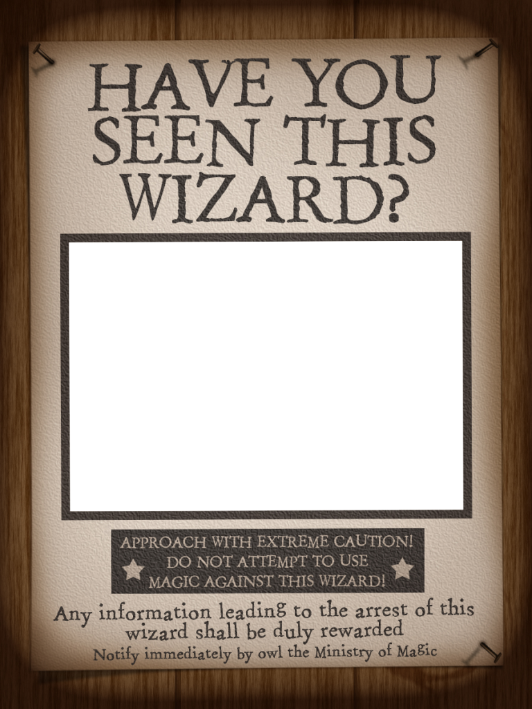 picture about Have You Seen This Wizard Printable identify Harry Potter Printables Celebration Year Harry potter