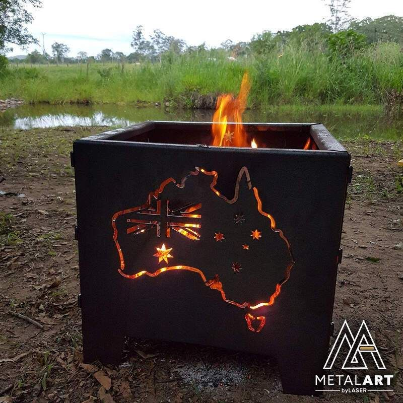 Camping Fire Pit >> Wanderer Square Brazier Camp Fire Pit Camp Fire Camping