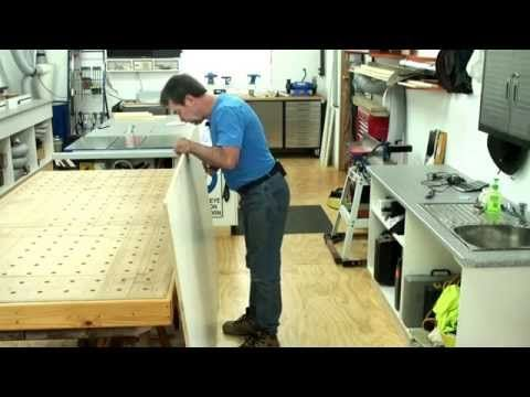How To Lift A Full Sheet Of Plywood On Your Own With Ease 2 Plywood Sheets Workbench Home Diy
