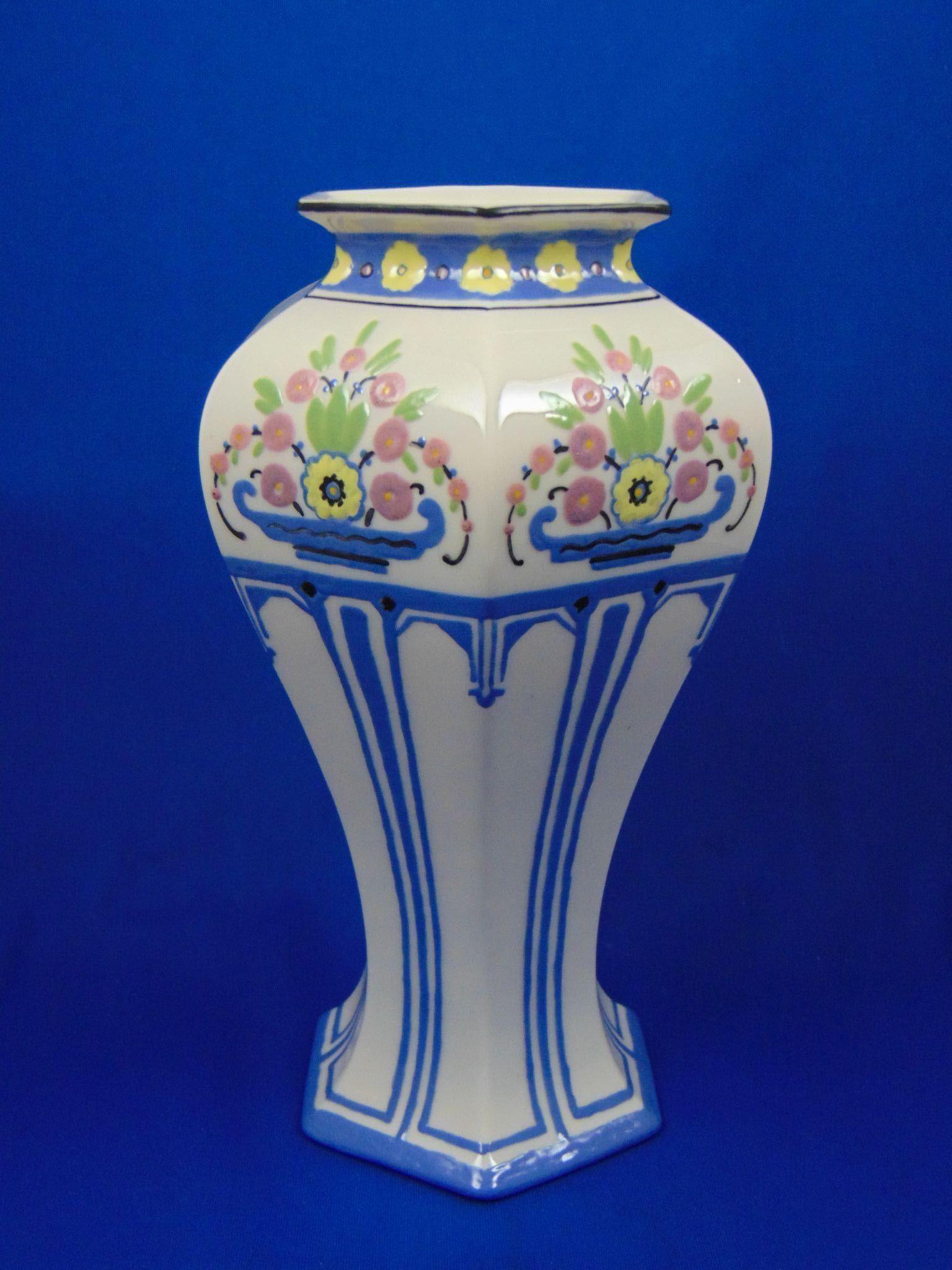 Lenox belleek arts crafts enameled floral design vase signed lenox belleek arts crafts enameled floral design vase signed ahvc floridaeventfo Image collections