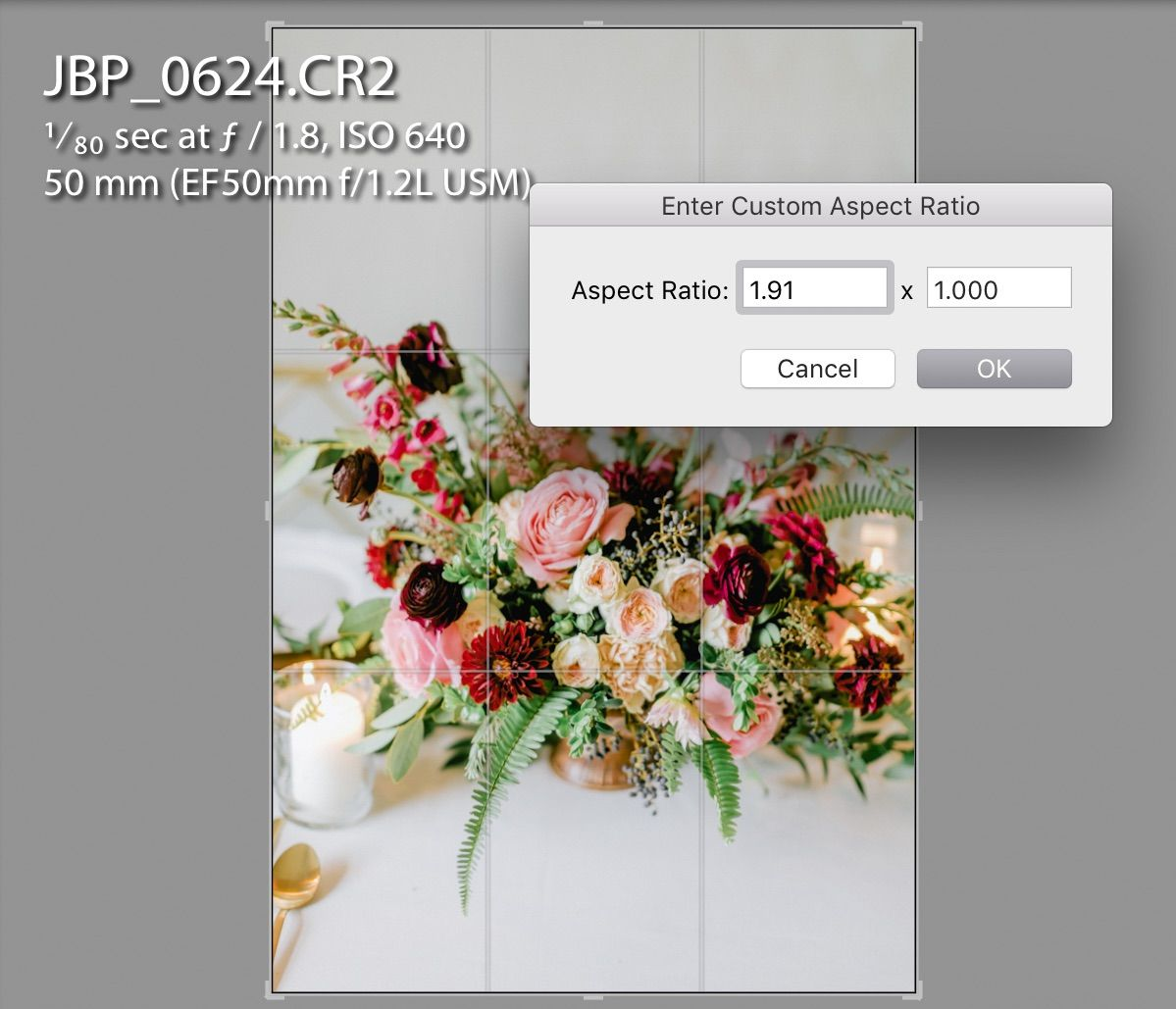 Instagram lightroom export settings