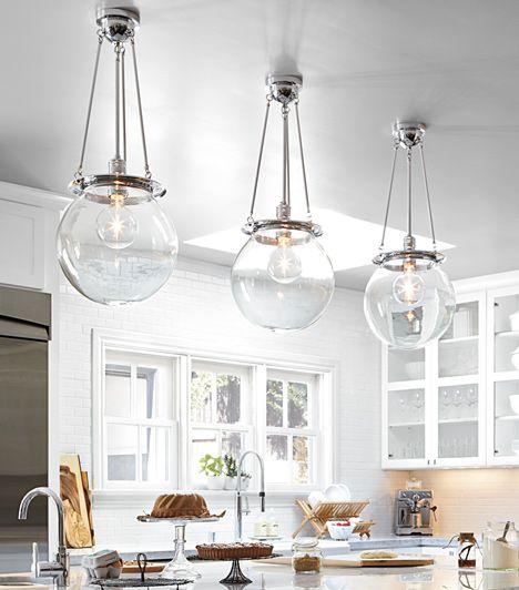 Classic Kitchen Lighting & Cabinet Hardware
