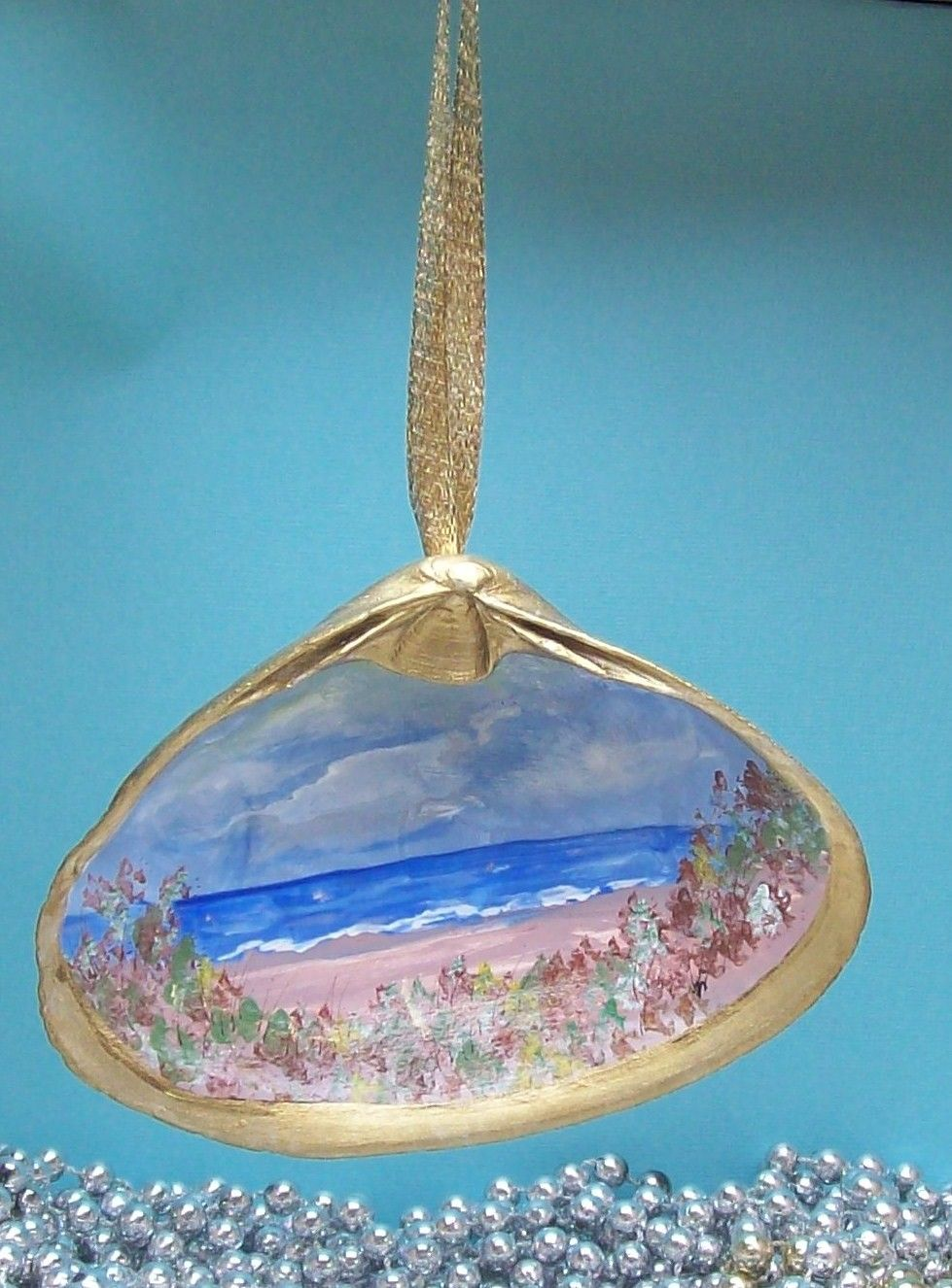 Sea View Painted Sea Shell