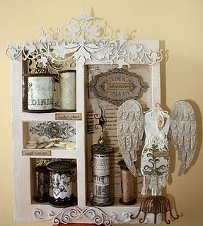 Cute sewing shadow box