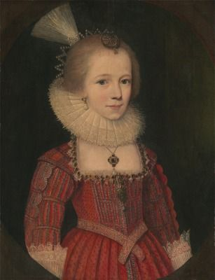 A Young Girl by Paul van Somer, ca. 1615