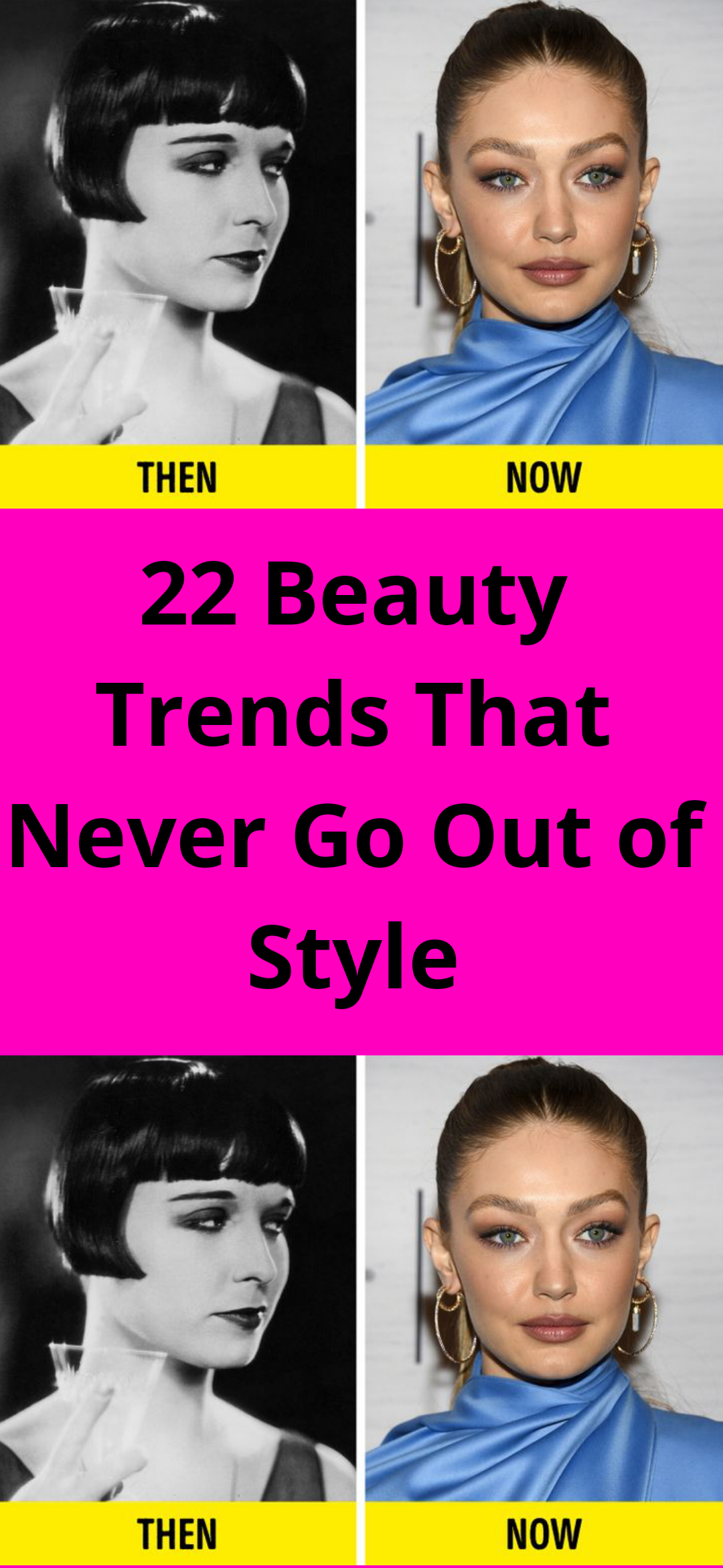 22 Beauty Trends That Never Go Out of Style