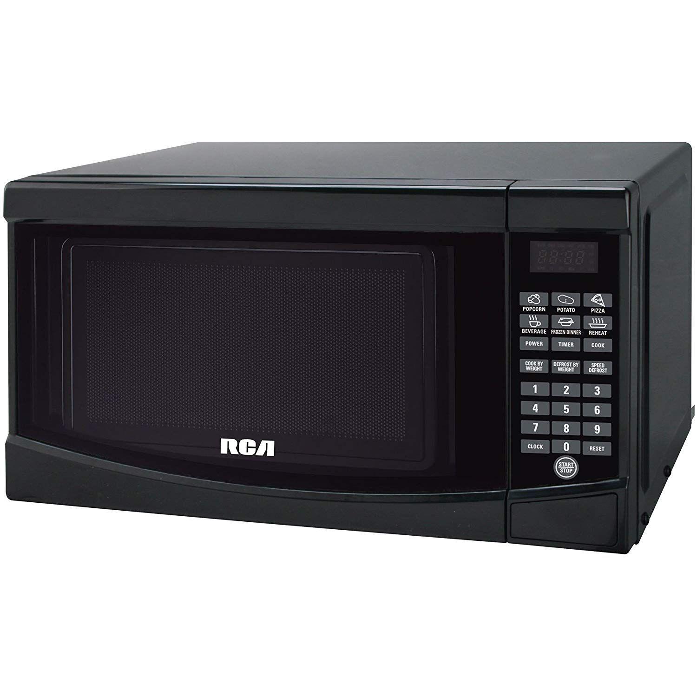 RCA RMW733-BLACK Microwave Oven, 0.7 cu. ft., Black #KitchenDining on daewoo appliances, sanyo appliances, general electric appliances, estate appliances, akai appliances, mitsubishi appliances, disney appliances, westinghouse appliances, sharp appliances, panasonic appliances, zenith appliances, whirlpool appliances,