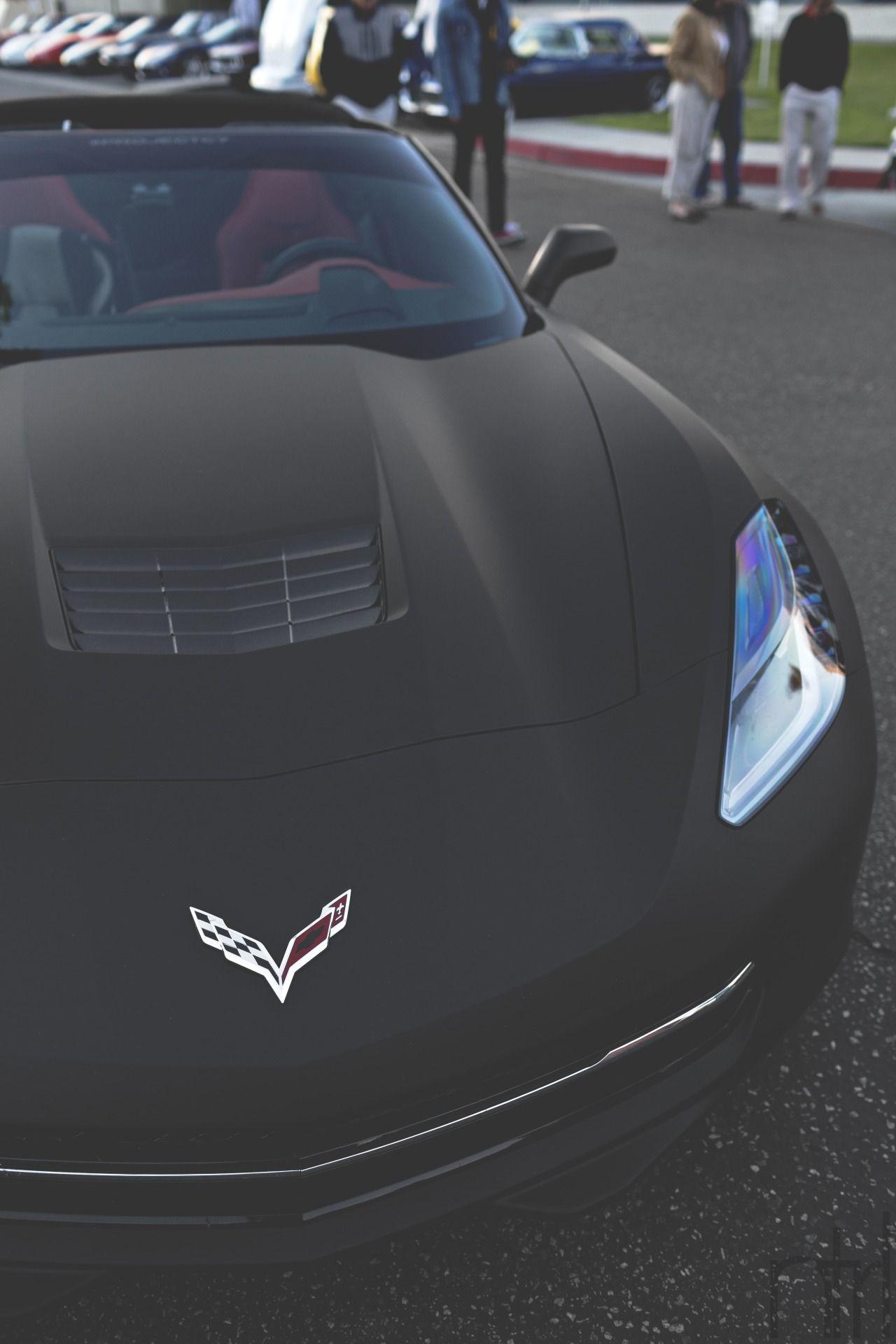Matte Black C7 Corvette Stingray